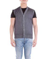 Cruciani Cu205838270br1 Wool Vest - Gray