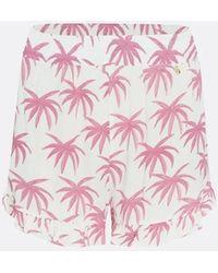 FABIENNE CHAPOT Swoosie Shorts Palms - Pink