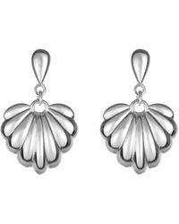 Coco & Kinney Lucy Earrings In Silver - Metallic