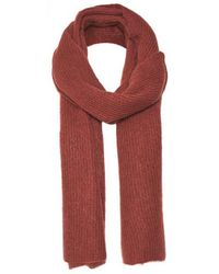 Part Two Itna Burgundy Scarf - Red