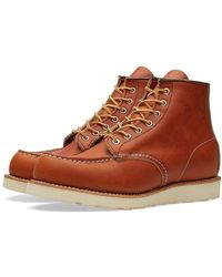 """Red Wing 875 Heritage Work 6"""" Moc Toe Boot Oro-legacy - Brown"""