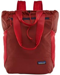 Patagonia Ultralight Black Hole 27l Tote Pack - Rincon Red Colour: Rin