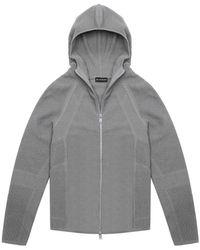 BLUEMINT Delta Hooded Zip Sweater - Gray
