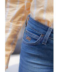 Lee Jeans Scarlett Blue Drop Jeans