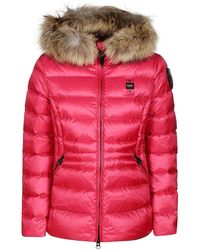 Blauer Usa Coats Bordeaux - Red