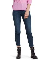 Marc Cain Collections Jeans With Studs Pc 82.02 D14 - Blue