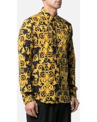Versace Jeans Couture - Shirt Baroque Fantasy Print - Lyst