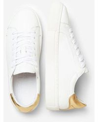 SELECTED Slected Femme - Donna Sneakers Gold - White