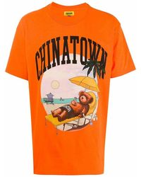 Chinatown Market Cotton T-shirt - Orange