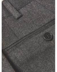 Armani Trouser (charcoal Grey) - Gray