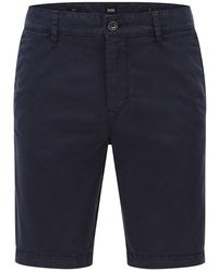 BOSS by HUGO BOSS Boss Schino Slim Shorts , Title:dk Blue