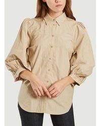 Second Female Dore Shirt Humus - Grey