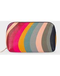 Paul Smith Make Up Bag Swirl - Multicolour