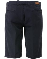 Corneliani Chino Shorts (navy) - Blue