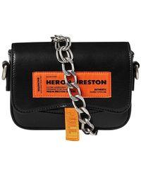 Heron Preston Hwna014e20lea001 - Black
