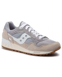 Saucony Trainers Shadow 5000 Vintage Grey / White - Multicolour