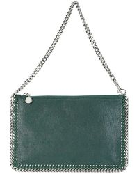 Stella McCartney Women's 371369w91323003 Green Polyester Pouch