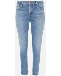 Citizens of Humanity Harlow Ankle Mid Rise - Blue