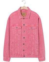 American Vintage Tineborow Jacket - Lychee - Pink