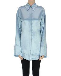 Acne Studios Oversized Shirt - Blue