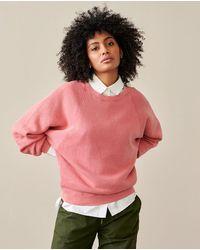 Bellerose Finkish Blush Sweatshirt - Pink