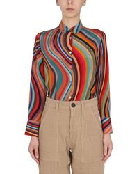 PS by Paul Smith Striped Shirt - Multicolour