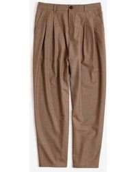 A Kind Of Guise Pleated Wide Pants - Brown