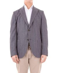 Eleventy Jacket Men Grey