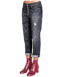 Dondup Loose Fit Jeans - Blue