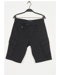 Antony Morato Neoprene Cargo Shorts Colour: , - Black