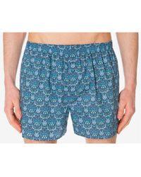 Sunspel - Liberty Print Boxer Shorts In Morris Flowers - Lyst