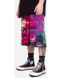 Mauna Kea Tie Dye Effect Shorts - Multicolour