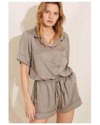 Underprotection Rana Pyjama Shorts - Grey