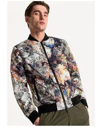 Antony Morato Printed Bomber Jacket Coloured Colour: Coloure - Multicolour