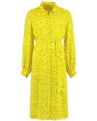 POM Amsterdam Sp6548 Dress - Flower Kisses Lemon - Yellow