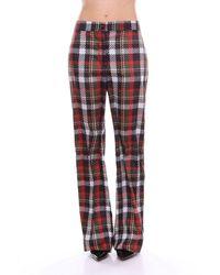 Blugirl Blumarine Trouser Women Multicolour - Red