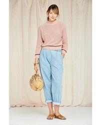SIDELINE Pia Jeans Light-wash - Blue