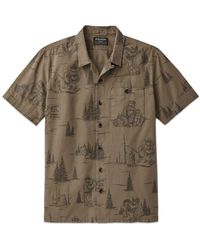 Filson Smokey Bear Camp Shirt - Olive Gray - Green