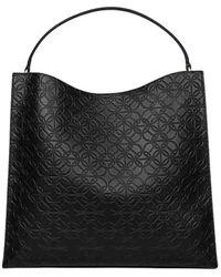 Borbonese Polyurethane Handbag - Black