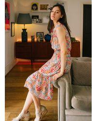Pyrus Anya Shirred Waist Dress - Multicolour