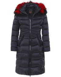 FROCCELLA - B220l Quilted Fur Trim Parka - Lyst