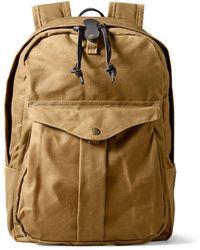 Filson Journeyman Backpack Tan - Brown