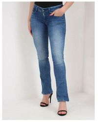 Replay Luz Bootcut Jeans Colour: Washed Blue