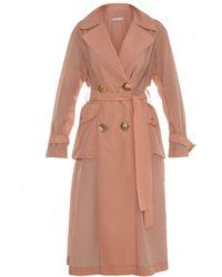 Rejina Pyo Addison Trench Coat - Pink
