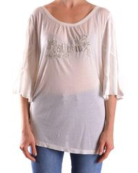 John Galliano White Modal T-shirt