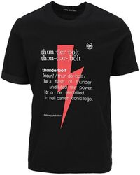 Neil Barrett - Thunderbolt Definition T-shirt - Lyst