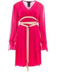 Max Mara - Silk Dress - Lyst