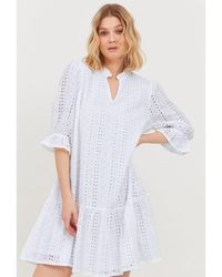 B.Young Bygallan Dress Optical - White