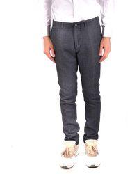 Daniele Alessandrini - Trousers In Grey - Lyst