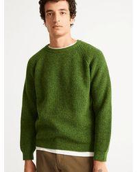 Thinking Mu Anteros Knitted Sweater - Green